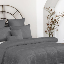 Twelve-Piece Seer Sucker Comforter Set