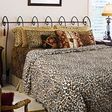 Shangri-La Printed Faux Fur Quilt Cover - Double