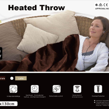 Electric Heated Throw