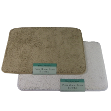 Plush Memory Foam Bathmats