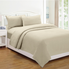 Micro Flannel Sheet Set - King White