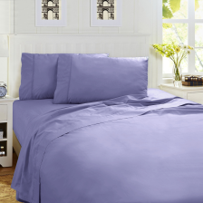 Bamboo Percale 250 TC Sheet Set - Single Limpet Shell