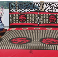 Shanghai Road Printed Quilt Cover - Double