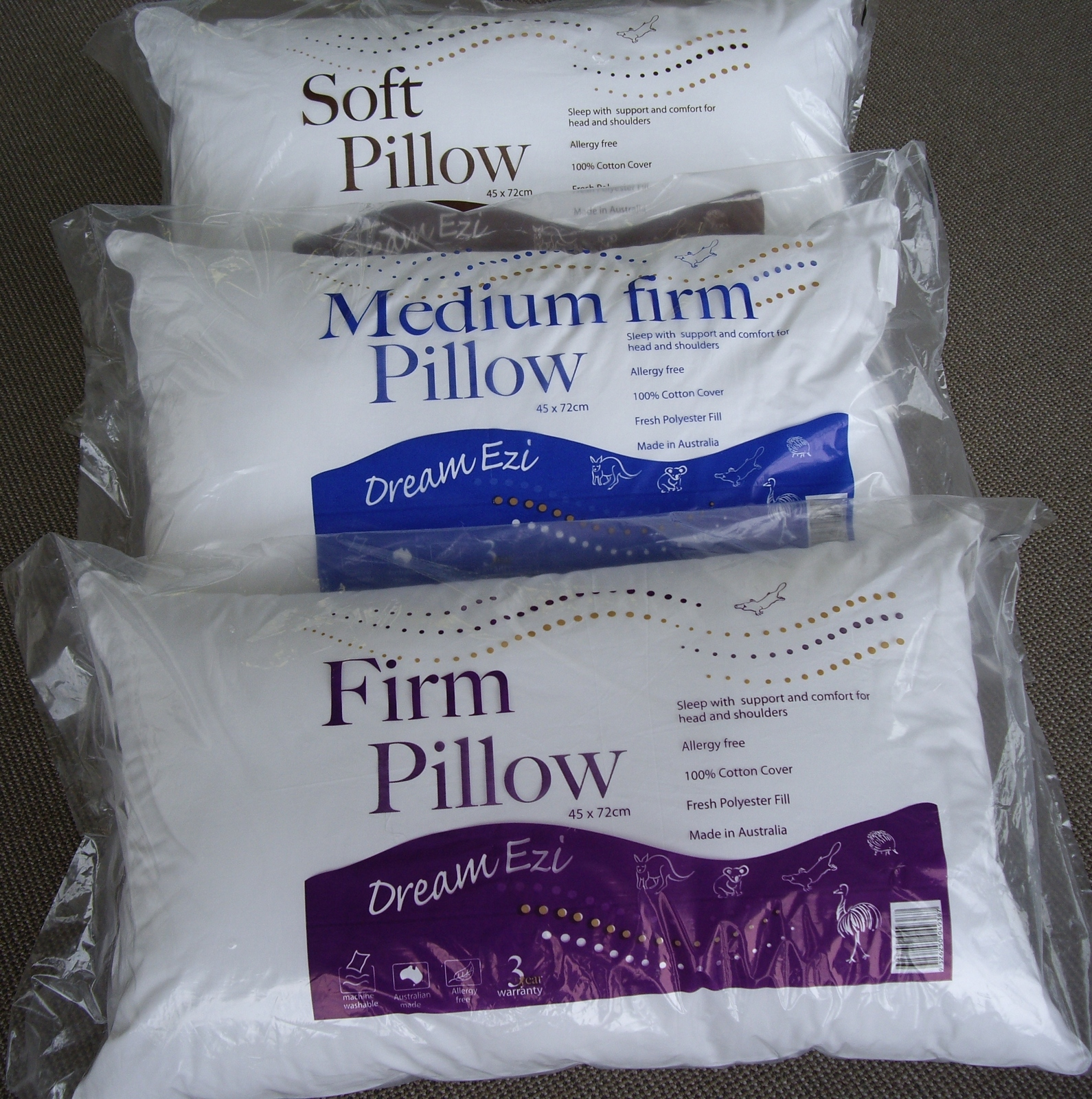 Kingtex International P L Soft Medium Amp Firm Pillows
